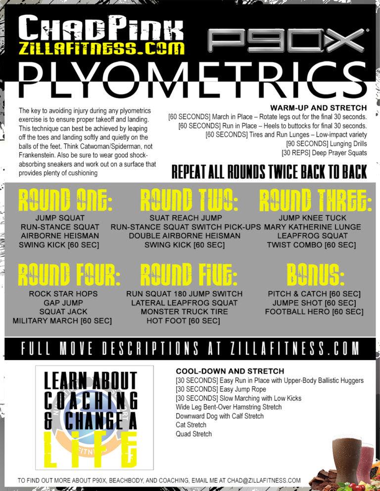 P90x Plyometrics Full Video : plyometrics, video, Plyometrics, Workout, Video, WorkoutWalls