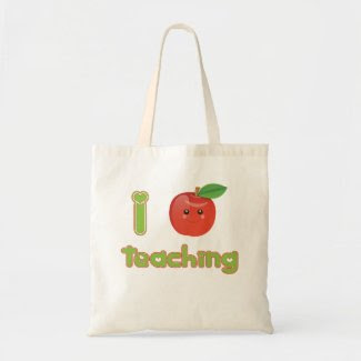 I Heart Teaching - Eco Bag bag