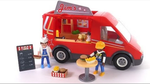 New #Playmobil Food Truck review! set 5632 @playmobil @playmobilusa