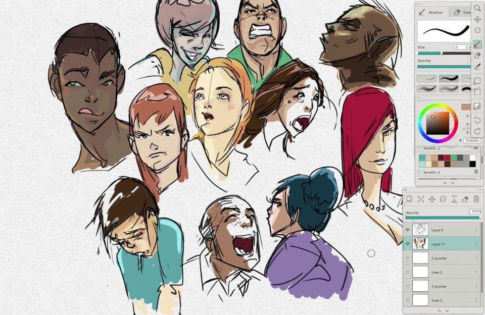 Karakter Yüz Ifadeleri Nasil çizilir Animasyon Gastesi