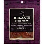 Krave Jerky, Pork, Black Cherry Barbecue Seasoned - 2.7 oz