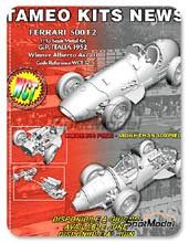 Kit 1/43 Tameo Kits - Ferrari 500 F2 - Alberto Ascari - Gran Premio de Italia 1952 - maqueta de metal