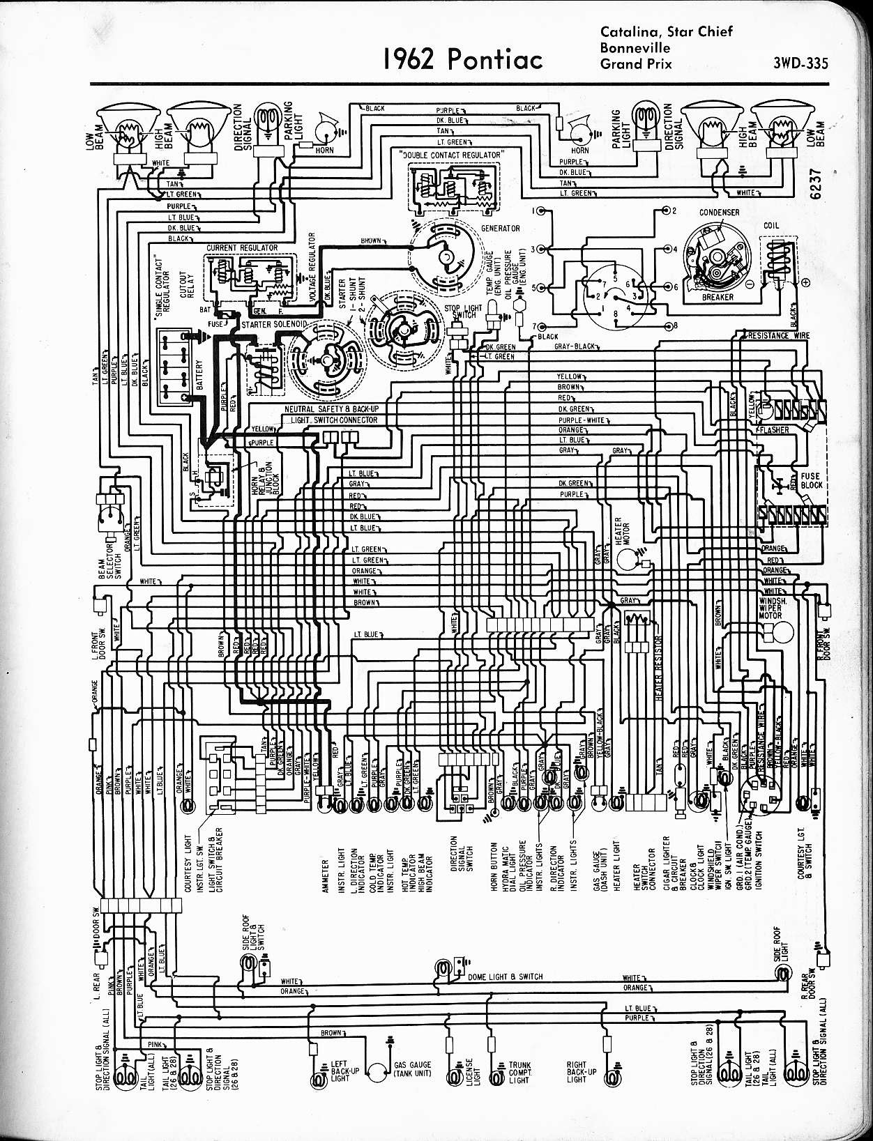 1972 Pontiac Catalina Wiring Diagram Wiring Diagram View A View A Zaafran It