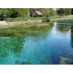 Villecomte | Villecomte : le village aux eaux turquoise