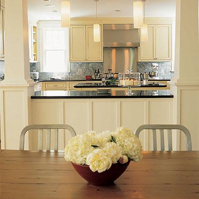 Cream Kitchen Cabinets - Contemporary - kitchen