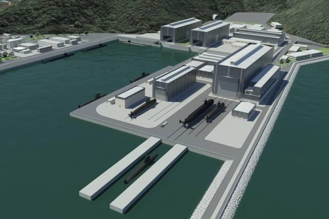 Nova Base de Submarinos em Itaguaí no Rio de Janeiro