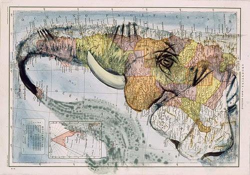 Artography - Elephant Map