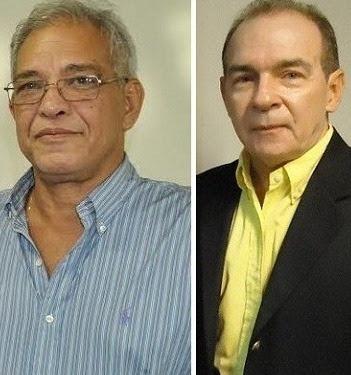 Secretário de Planejamento, Bernardo Bringel, e o ex-chefe da Casa Civil, João Abreu
