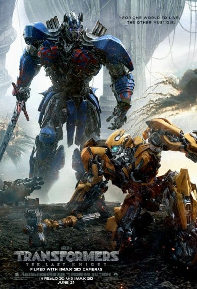WIN Advance Screening Passes to TRANSFORMERS: THE LAST KNIGHT! – BackstageOL.com
