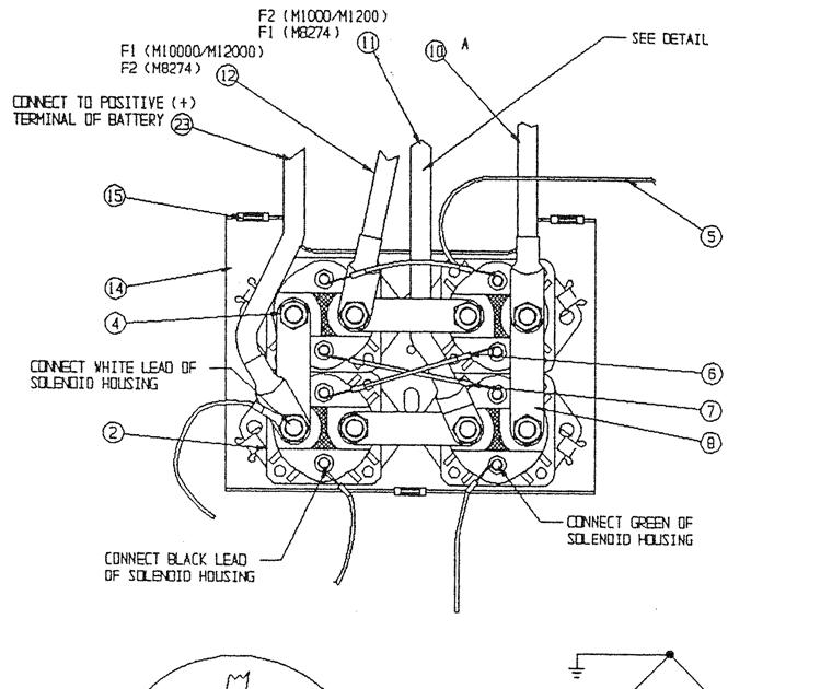 Warn M10000 Wiring Diagram