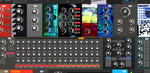 Nouveau Collection: Complexity is fun! :D | Entry | Reaktor User Library