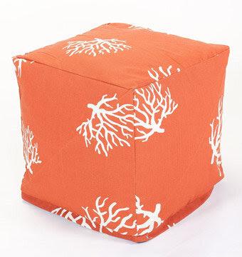 coral pouf