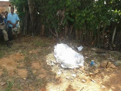 Homicídio ocorreu na noite deste sábado (Foto: Ubatã Notícias)