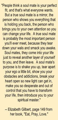 Eat Pray Love Quotes Soulmate