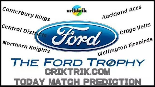 CAN vs NK Today Match Prediction – The Ford Trophy 2018 | CrikTrik
