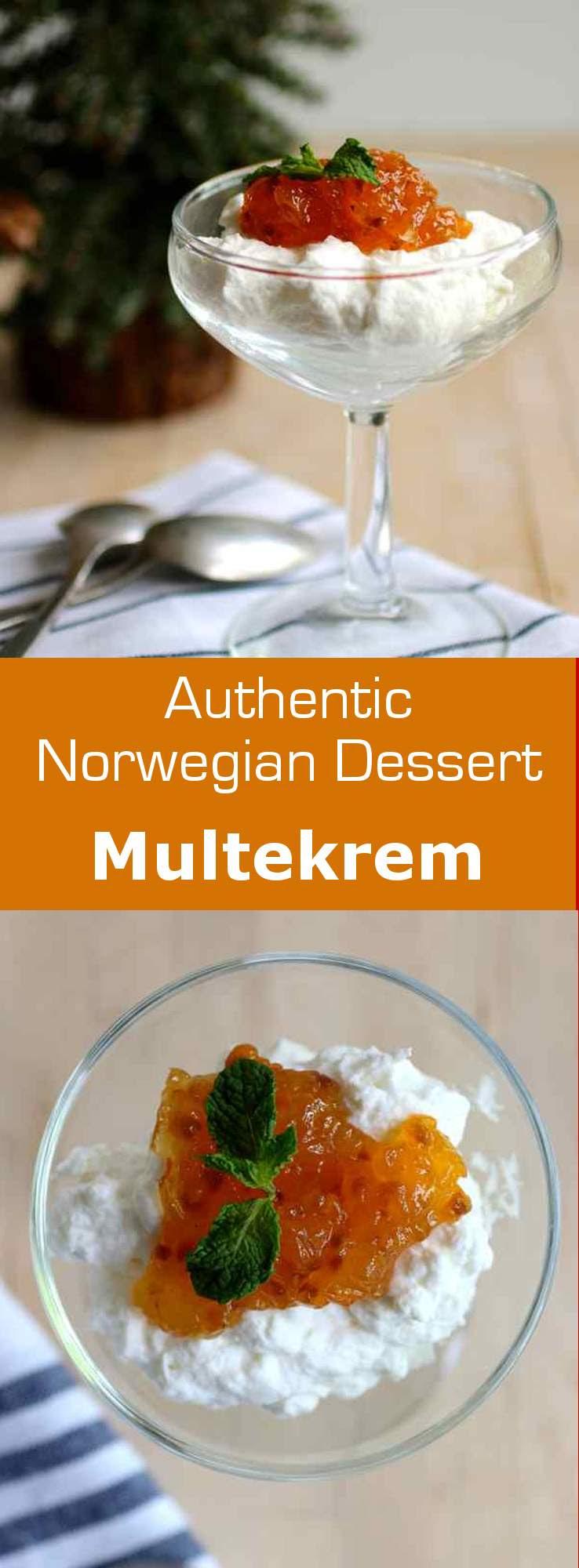 Multekrem - Traditional Norwegian Recipe   196 flavors
