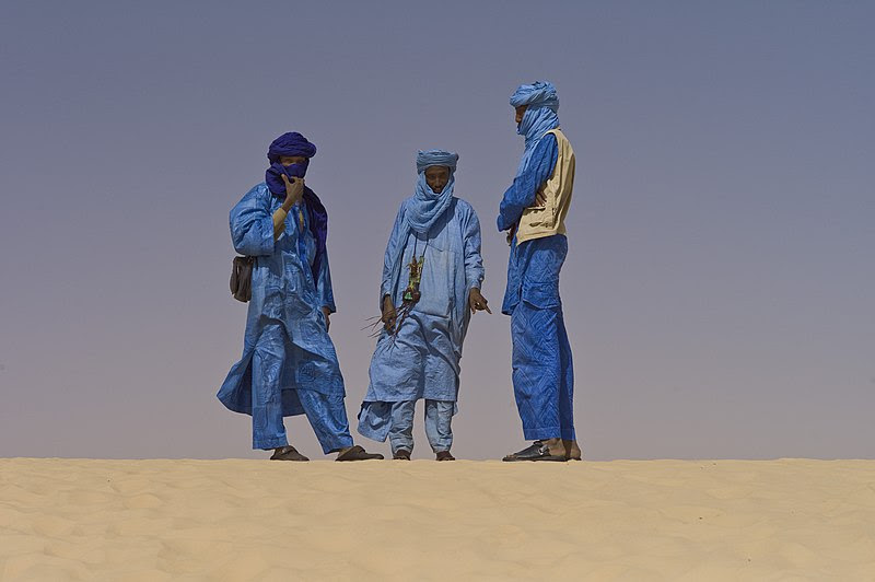 File:Touaregs at the Festival au Desert near Timbuktu, Mali 2012.jpg