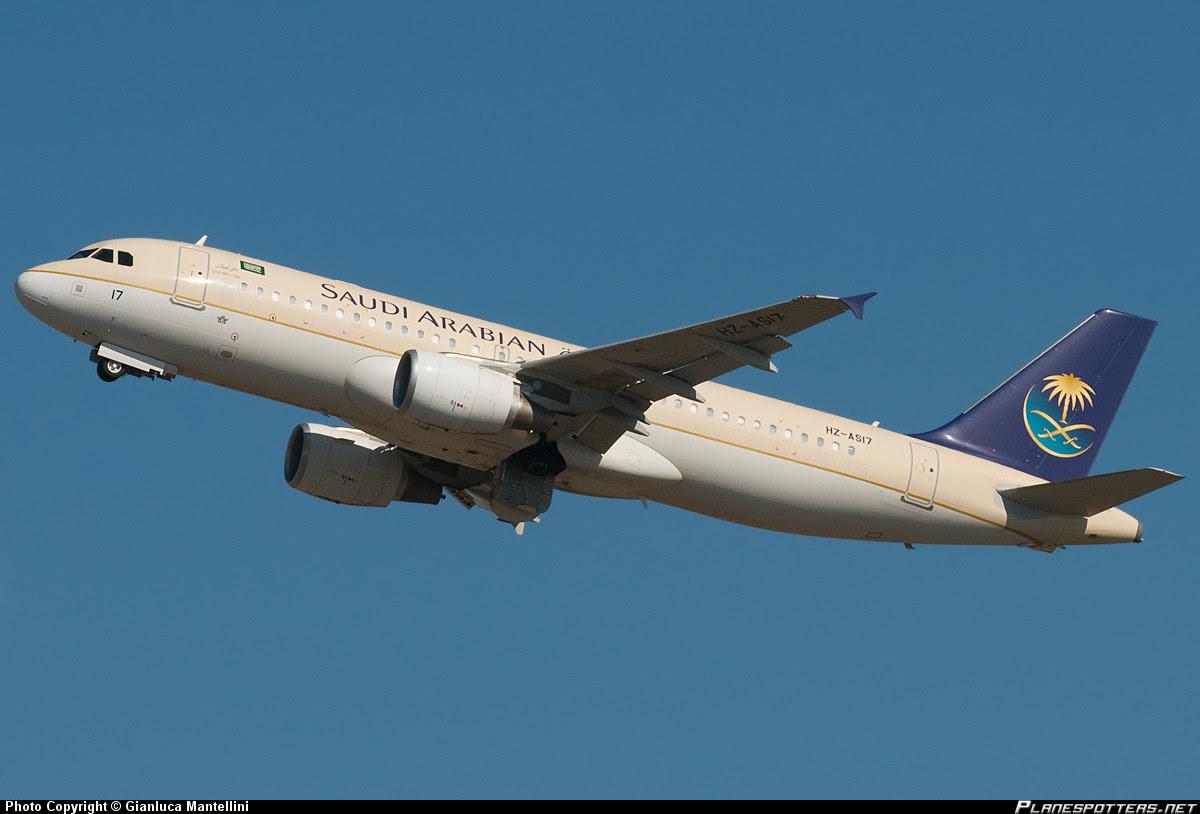 Saudia A320 HZ-AS17