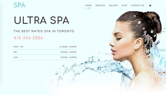 Ultra Spa WordPress Theme for Beauty & Health Care Service