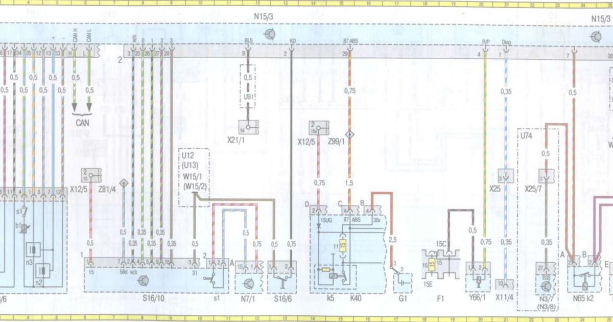Mercede Benz W210 Wiring Diagram