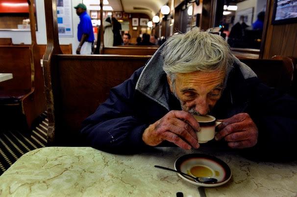 Image result for homeless cafe