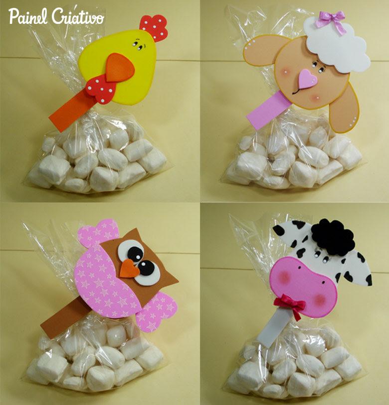 como fazer pregadores bichinhos vaquinha corujinha galinha, ovelhinha em eva lembrancinha aniversario imas  (1)