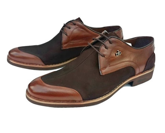 Leather Men's Casual Shoes / Taba Brown Color / by KocSanShoes