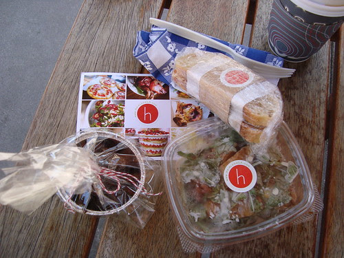 Heirloom LA bag lunch
