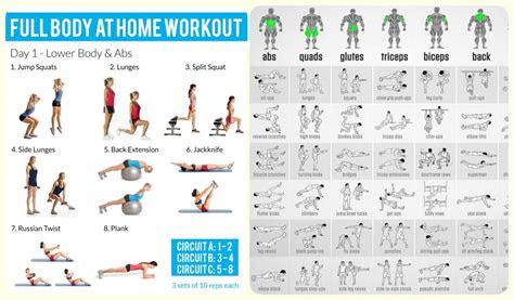 days full body home workout challenge valentinbosioccom