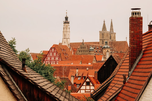 Walking the Wall in Rothenburg - Exploring Our World
