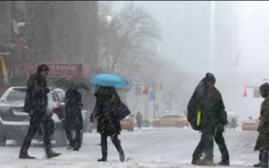 Winter Storm Grayson Is About to Bring Freezing Cold and Snow to the East Coast (Video)