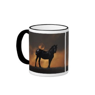Majestic horse mug