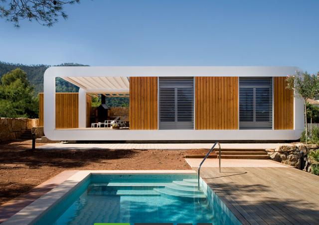 Immobiliare verdi colline case prefabbricate in legno - Del taglia piscine prezzi ...