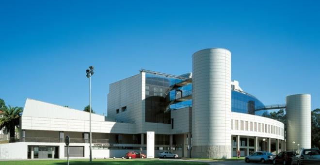 El hospital de Montecelo, en Pontevedra. EFE
