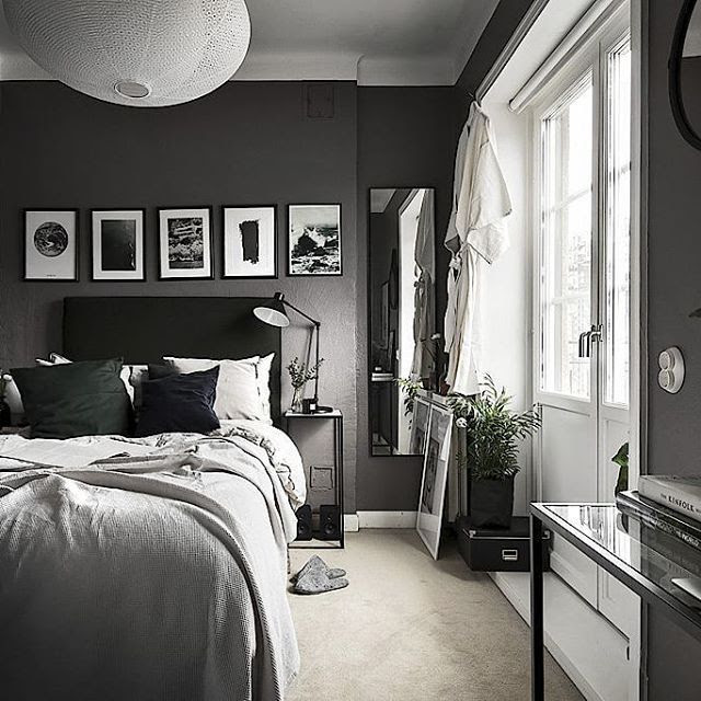 Dark Bedroom Colors Mangaziez