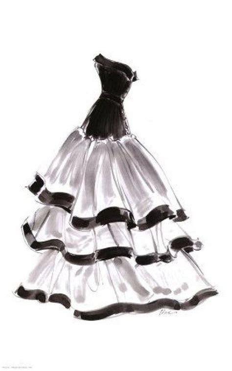 evening gown  ruffles print  tina fashion