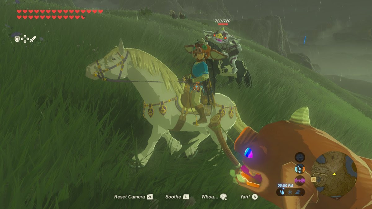 One patient Zelda: Breath of the Wild player escorted a Bokoblin for miles screenshot