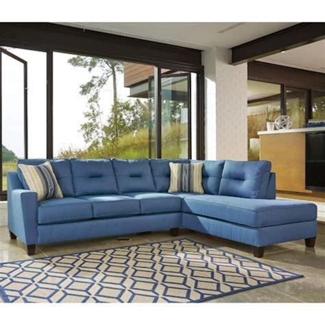 ashley furniture kirwin nuvella blue laf sofa