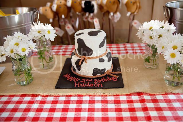 Cowboy Themed Birthday Party - Kara's Party Ideas - The Place for