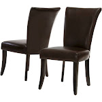 Stanford Dining Chairs Brown (Set Of 2) - Christopher Knight Home