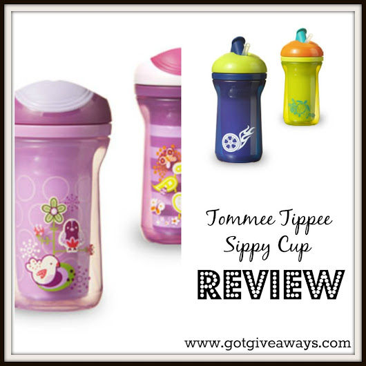 Tommee Tippee Cup Review! - Got Giveaways?