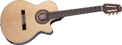 best takamine g series eg562c acoustic electric guitar with slim fxc nylon string for sale. Black Bedroom Furniture Sets. Home Design Ideas