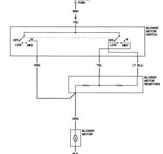 1981 Buick Regal Blower Motor: Electrical Problem 1981 ...