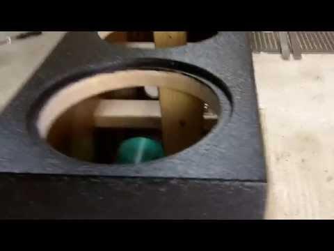 TRUCK BEDLINER SUBWOOFER BOX