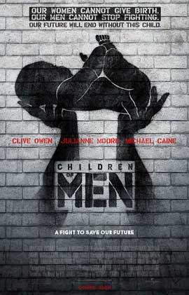 Image result for children of men movie poster
