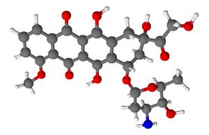 Doxorubicin 3D model