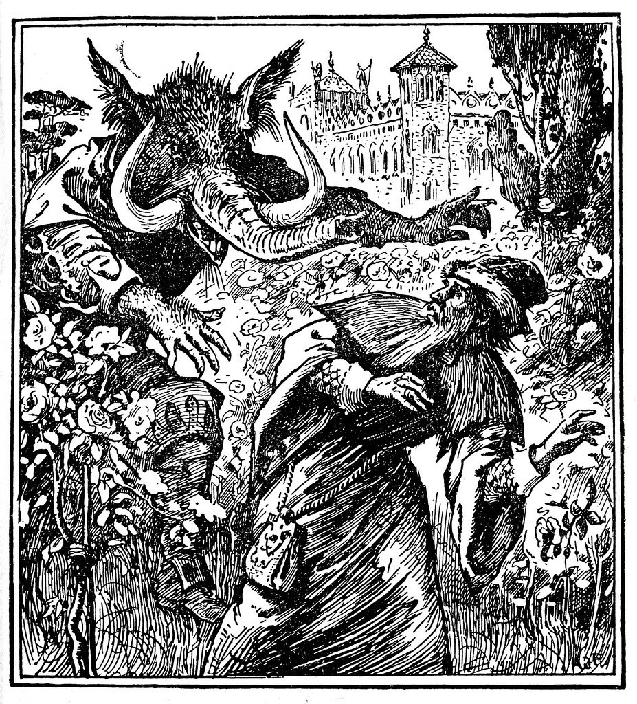 Henry Justice Ford - The blue fairy book, edited by Andrew Lang, 1920 (illustration 3)