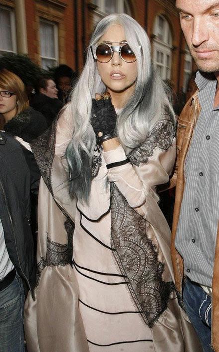 Lady Gaga's nerdy specs