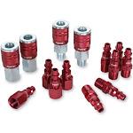 Legacy Manufacturing A73458d Colorconnex Type D 14pc 1/4 Body Coupler & Plug K