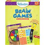 Skillmatics Educational Games: Brain Games Write & Wipe Activity Mats